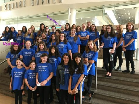MODG Students Sing at Madison Square Garden