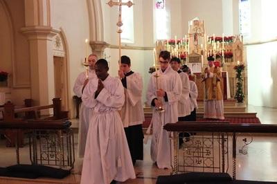 Pearce+and+Callan++altar+serving