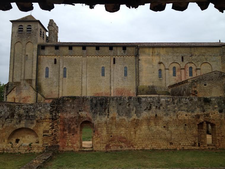 Abbey Cadouin in France