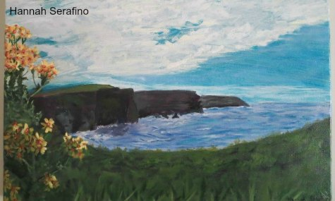 Cliffs of Moher, Ireland - Serafino, Hannah - grade 11 - TIED FOR THIRD PLACE