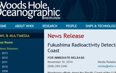 NEWS BRIEF: Radiaton found off the coast of California