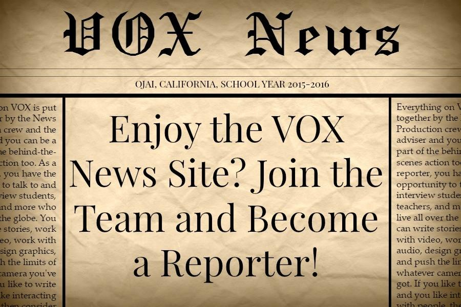 Enjoy+the+VOX+News+Site%3F+Join+the+Team+and+Become+a+Reporter%21