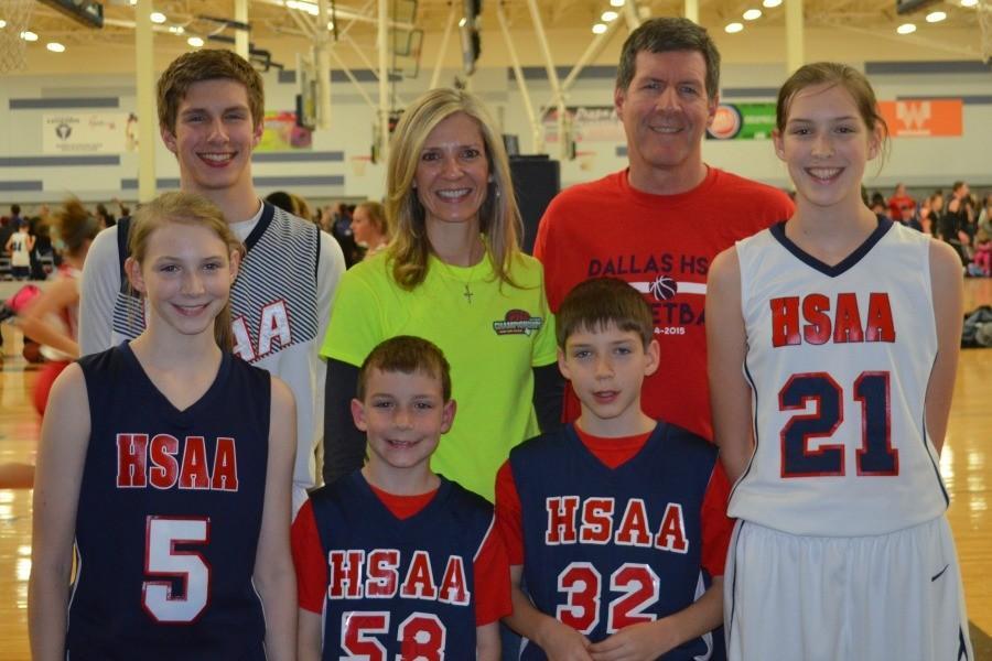 The+Lehman+Family+at+the+National+Christian+Homeschool+Basketball+Championship+tournament