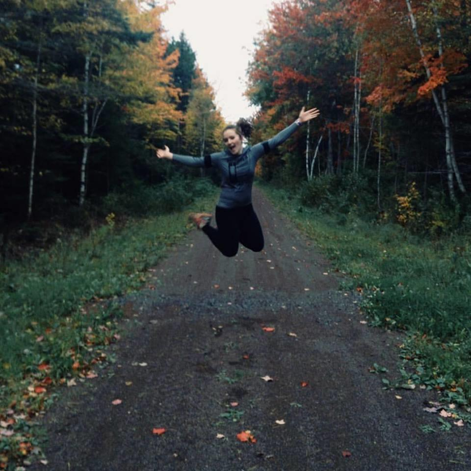 Mary Theresa running pic