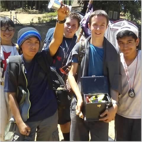 Boy Scout five