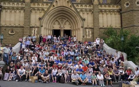 Australian Students on Pilgrimage