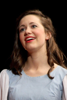 "Courtney Jacobson in ""Seven Brides for Seven Brothers"""