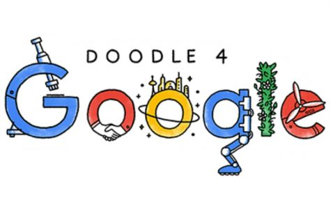 The above image is Google's official Doodle 4 Google logo.