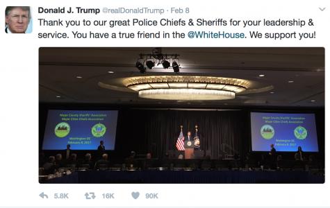 Photo credit:  Donald Trump Twitter (@realDonaldTrump)