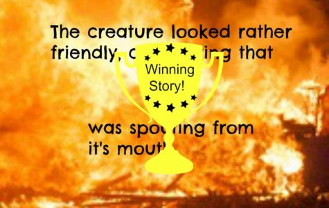 Winning Story for Firebreathing Creature!