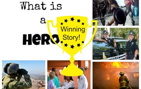 Winning Story for What is a Hero!