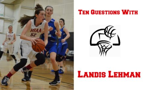 Ten Questions with Landis Lehman