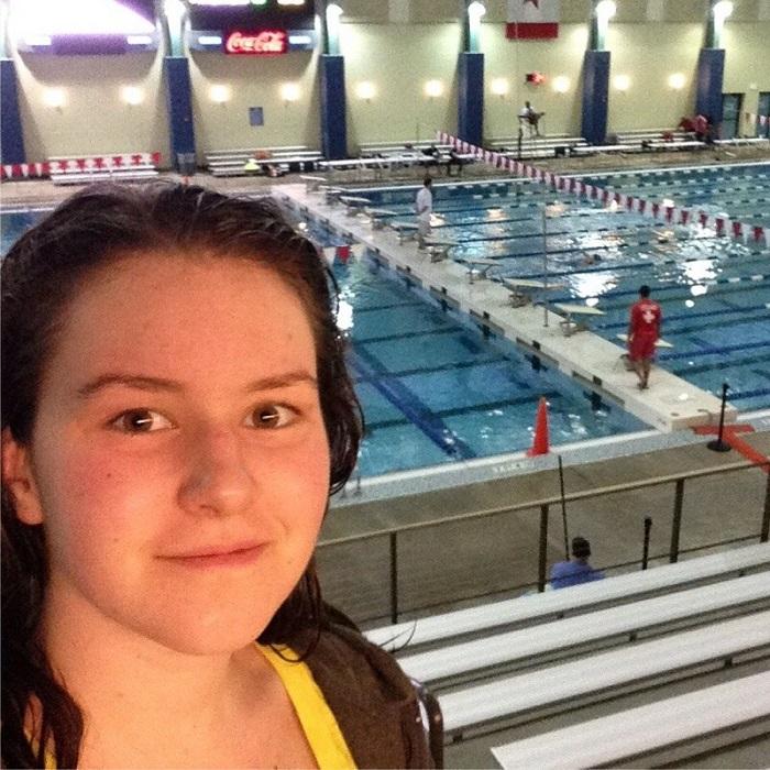 Jordan at Cullman Aquatic Center.