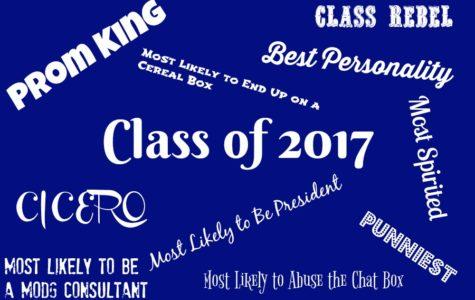 Class of 2017:  Senior Awards