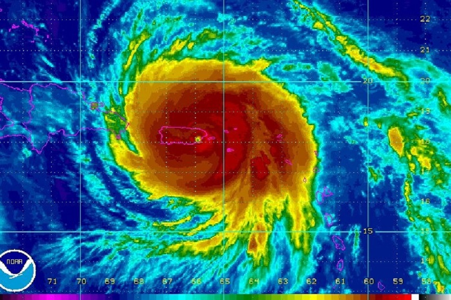 Hurricane Maria: Still Going Strong