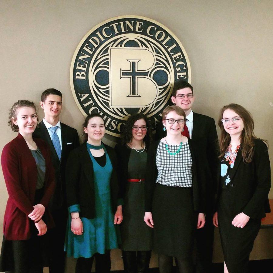 Pictured above left to right: Anna Hemman, John David Lane, Lia Clarity, Catherine Schwenk, Anna Hermes, John Morran, and Clarissa Skipworth