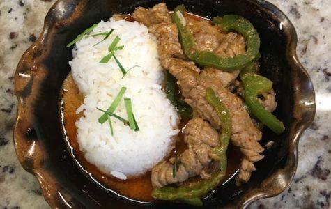 Easy Beef Panang!