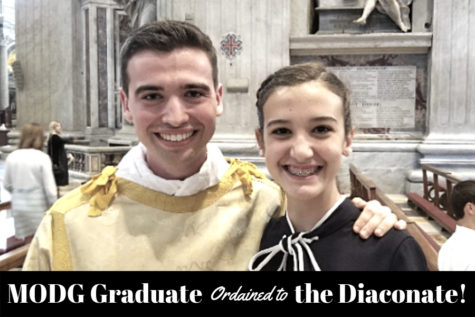 MODG Graduate Ordained to Diaconate
