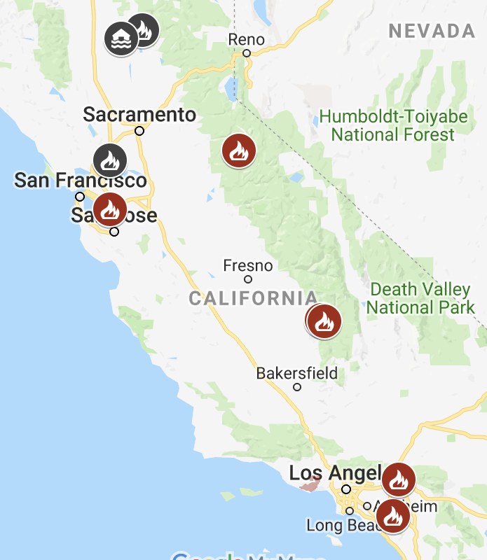 Recap Of The Recent California Fires Modg News