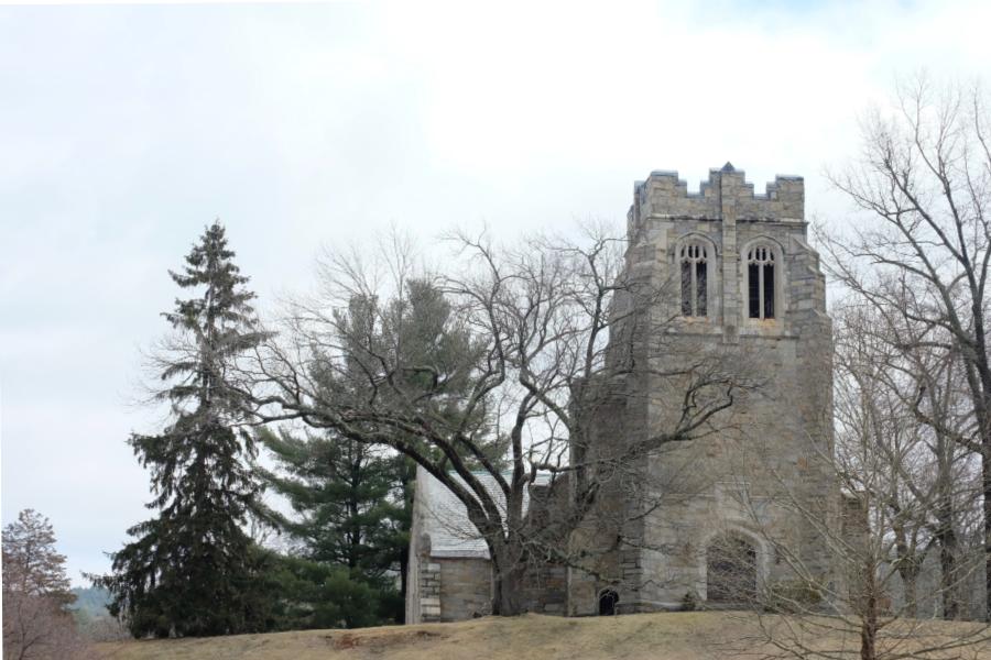 The Sage Chapel exterior.