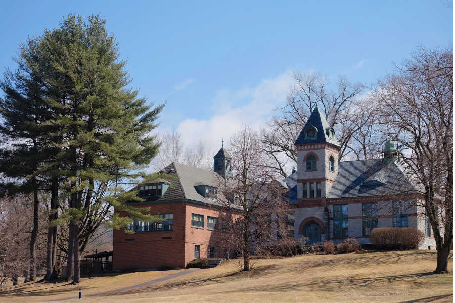 Two buildings, currently unused, on the campus grounds will be refurbished for future student use.