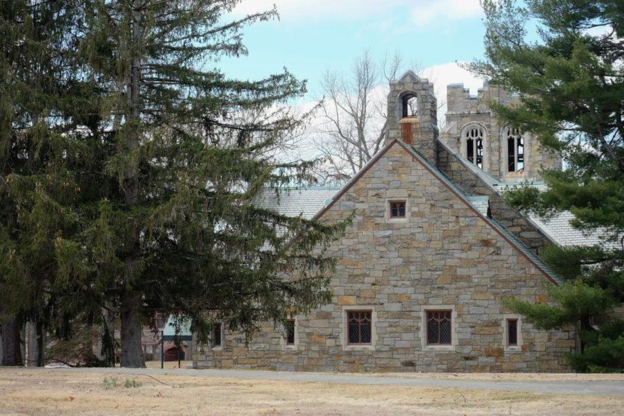 Sage Chapel exterior.