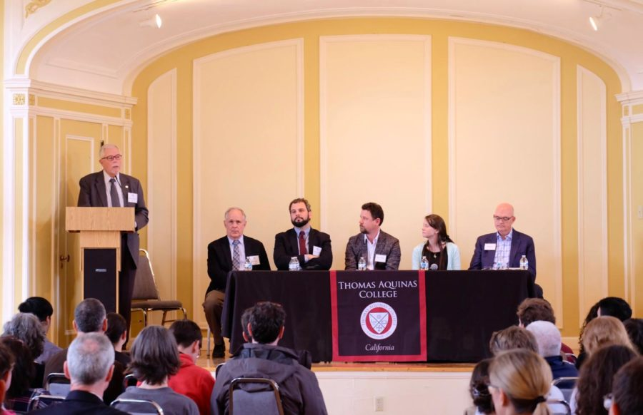 A panel of alumni and faculty discuss their professions and how TAC prepared them.