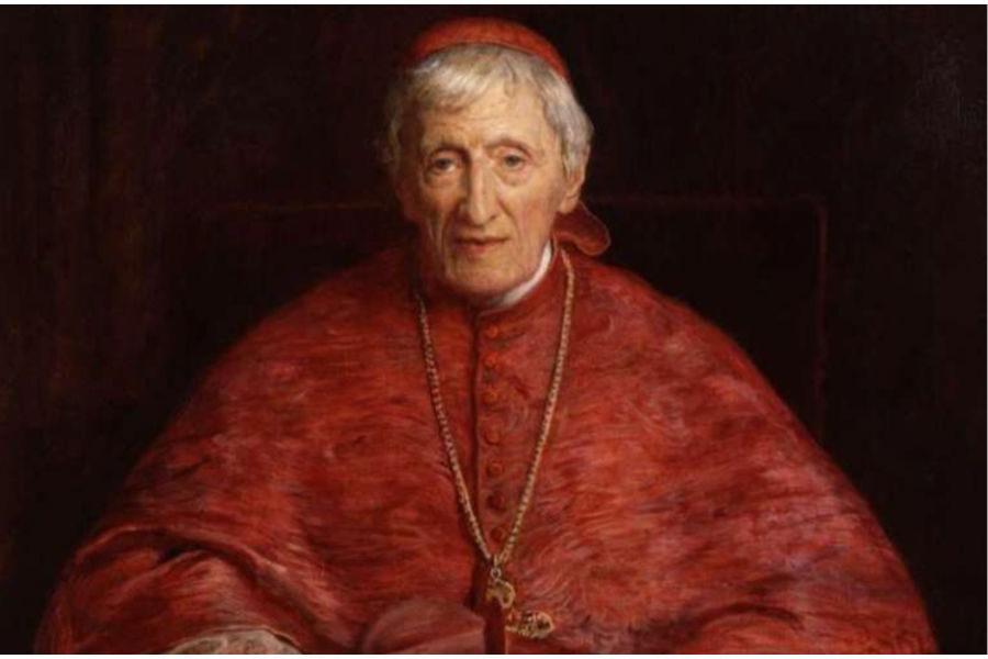 John Henry Newman by Sir John Everett Millais. Public domain.
