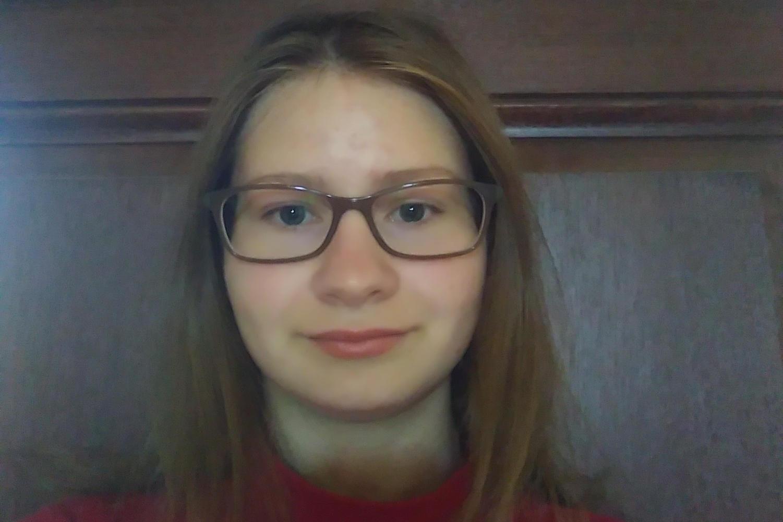 MODG Student Sarah Zoch writes poetry.