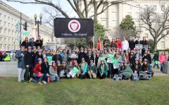 Thomas Aquinas College New England students in the March for Life in D.C. 2020