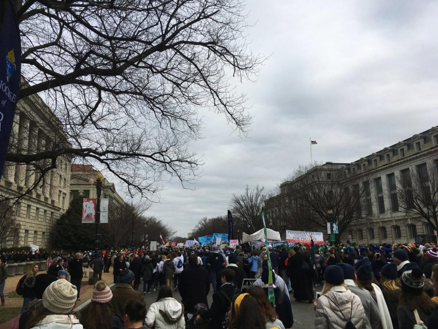 The March for Life in D.C. 2020
