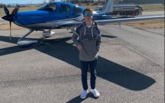 MODG Junior Jacob Croix is working to get his pilot's license.