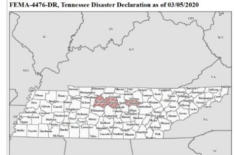Tornado and Coronavirus in Tennessee