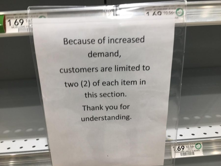 These signs are in all of the grocery stores. Here's one at the local Publix.