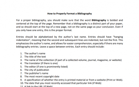 New MODG Standards for Bibliographies