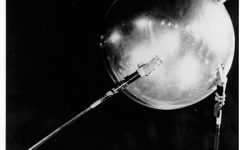Sputnik I was the first artificial satellite sent into space. history.nasa.gov