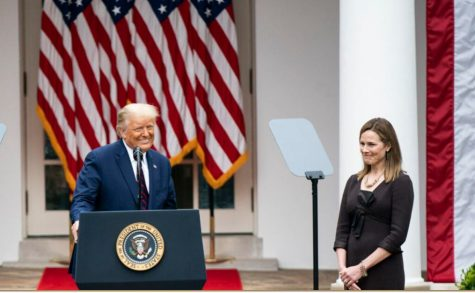 President Trump announcing his nomination of Judge Amy Coney Barrett