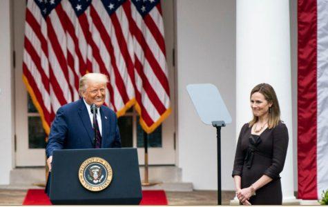 President Trump announcing his nomination of Judge Amy Coney Barrett